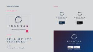 Sonotax Logo Entwicklung
